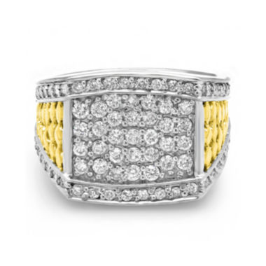 jcpenney.com | Mens 1 CT. T.W. Diamond 10K Two-Tone Gold Ring