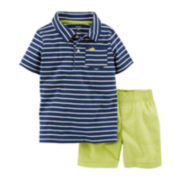 Carter's® Polo and Shorts Set - Baby Boys newborn-24m
