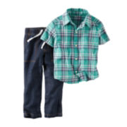 Carter's® Plaid Shirt and Jeans Set - Baby Boys newborn-24m