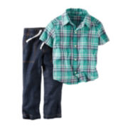 Carter's® Plaid Shirt and Jeans Set - Toddler Boys 2t-5t