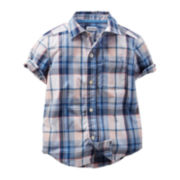Carter's® Plaid Shirt - Preschool Boys 4-7