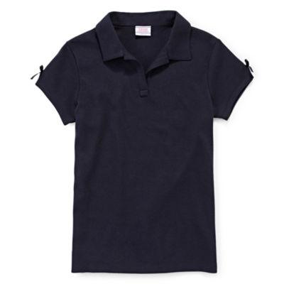 IZOD® Short-Sleeve Bow Polo - Preschool Girls 4-6x