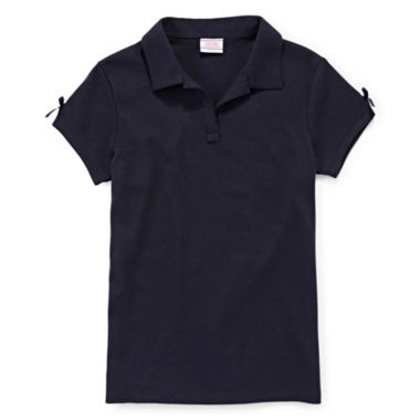 jcpenney.com | IZOD® Short-Sleeve Bow Polo - Preschool Girls 4-6x