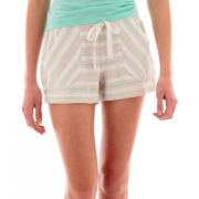 Rewind Striped Soft Shorts