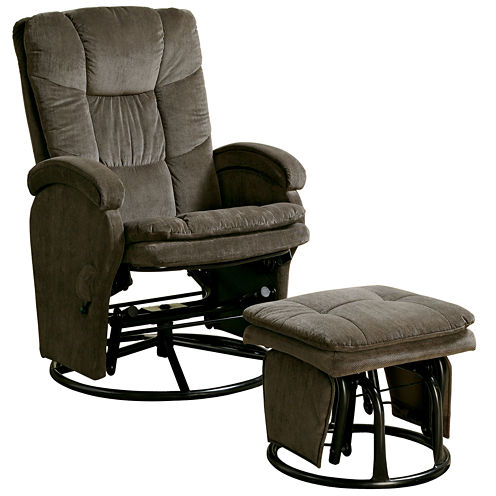 Barney Glider with Ottoman