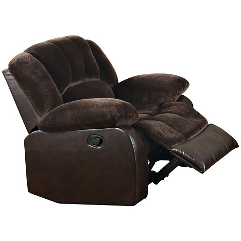 Fitz Faux-Leather Recliner