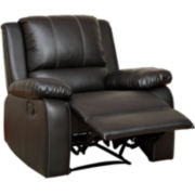 Galloway Faux-Leather Recliner