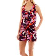 Stylus™ Sleeveless Floral Print Romper
