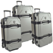 Traveler's Choice® Maxporter 3-Piece Rolling Trunk Luggage Set