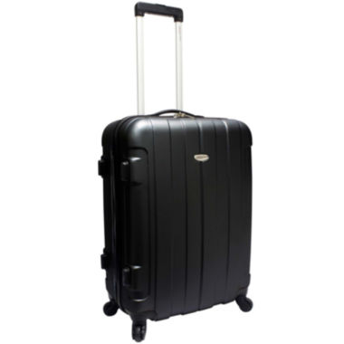 "jcpenney.com | Traveler's Choice® Rome 25"" Hard-Shell Spinner Upright Luggage"
