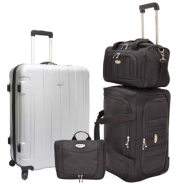 jcpenney.com | Traveler's Choice® Rome 4-pc. Nested Luggage Set