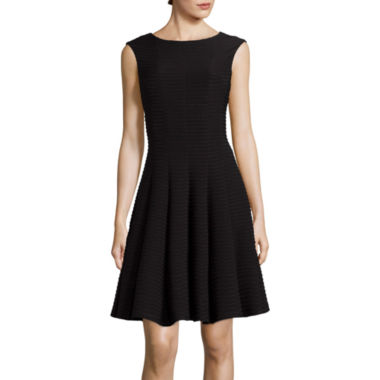jcpenney.com | Danny & Nicole® Sleeveless Pintuck Fit-and-Flare Dress