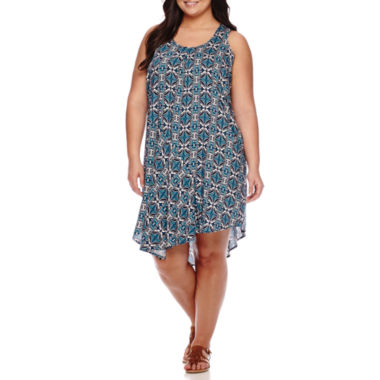 jcpenney.com | Stylus™ Draped Tank Dress