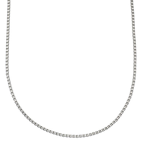 """Stainless Steel 24"""" Box Chain Necklace"""