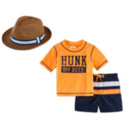 Carter's® Fedora or Rashguard Set - Baby Boys newborn-24m