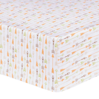jcpenney.com | Trend Lab® Deer Lodge Arrow Fitted Crib Sheet