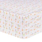 Trend Lab® Deer Lodge Arrow Fitted Crib Sheet