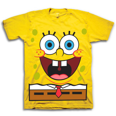 jcpenney.com | SpongeBob Short-Sleeve Cotton Graphic Tee - Boys