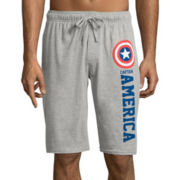 Marvel® Captain America Knit Pajama Shorts