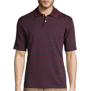 jcpenney.com | St. John's Bay® Short-Sleeve Quick-Dri Mesh Interlock Polo