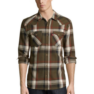 jcpenney.com | Levi's® Long-Sleeve Sway Flannel Shirt