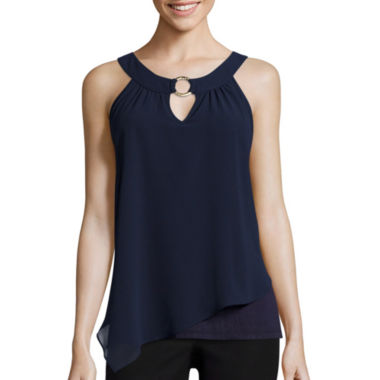 jcpenney.com | by&by Sleeveless O-Ring Top