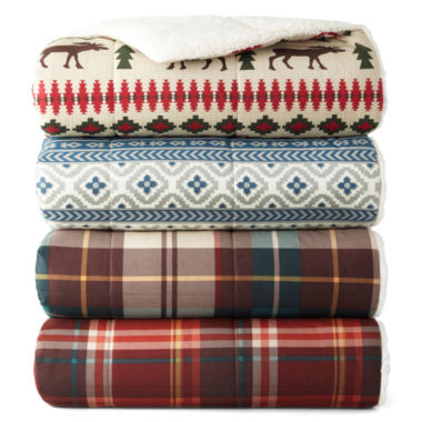 jcpenney.com | JCPenney Home Cozy Spun Print Throw