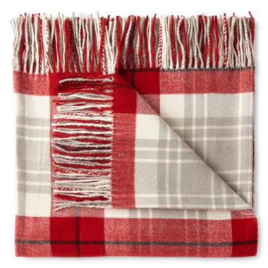 jcpenney.com | JCPenney Home Ultra Soft Fringe Throw