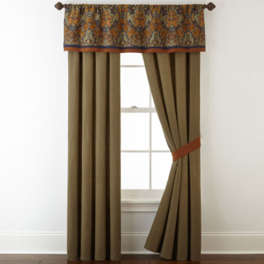 jcpenney.com | Royal Velvet® Briarhill 2-pack. Rod-Pocket Curtain Panels