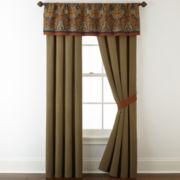 Royal Velvet® Briarhill 2-pk. Rod-Pocket Curtain Panels