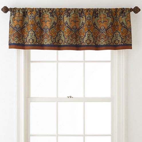 Royal Velvet® Briarhill Rod-Pocket Valance