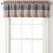 Home Expressions™ Baja Rod-Pocket Lined Valance