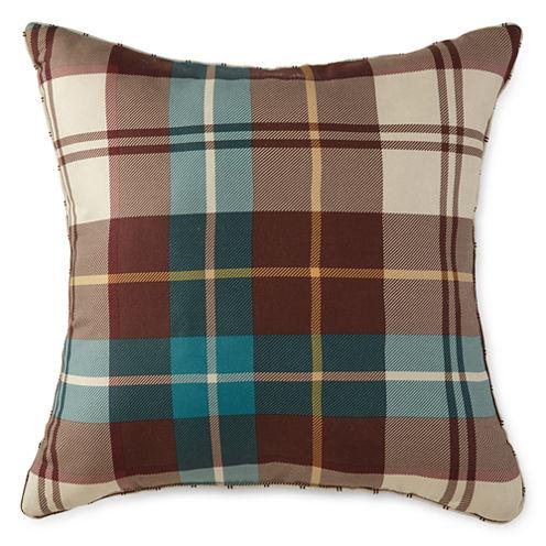 Home Expressions™ Decklan Plaid Square Decorative Pillow