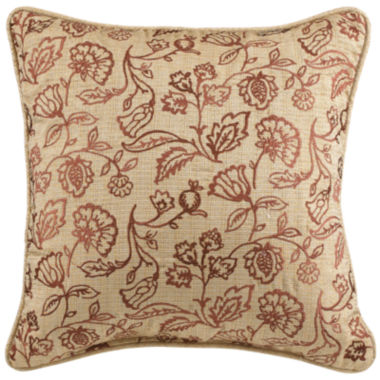 jcpenney.com | Croscill Classics® Tan Chenille Jacobean Fashion Decorative Pillow