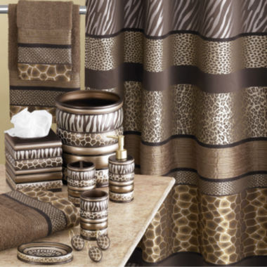 jcpenney.com | Safari Stripes Bath Collection