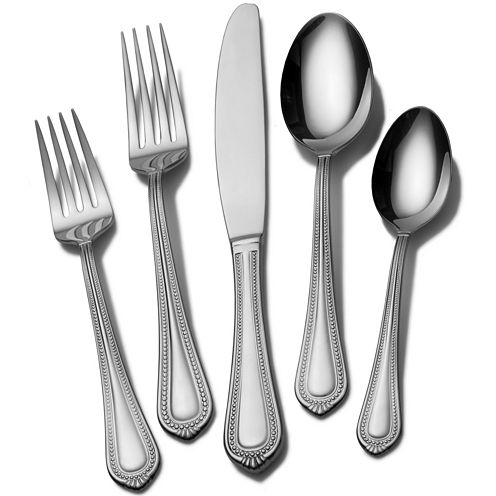 Mikasa® Regent Bead 20-pc. 18/10 Stainless Steel Flatware Set