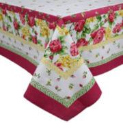 "Homewear Rose Kiss 60x102"" Tablecloth"