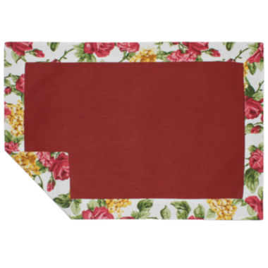 jcpenney.com | Homewear Rose Kiss Set of 4 Placemats