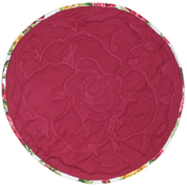 jcpenney.com | Homewear Rose Kiss Set of 4 Round Placemats