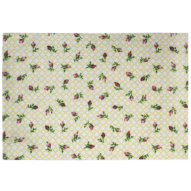 jcpenney.com | Homewear Rose Bud Set of 4 Placemats
