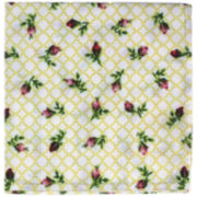 Homewear Rose Bud Kiss Set of 4 Napkins