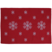 Homewear Party Snowflake Set of 4 Placemats