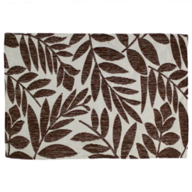 jcpenney.com | Homewear Tropical Leaf Set of 4 Brown Placemats