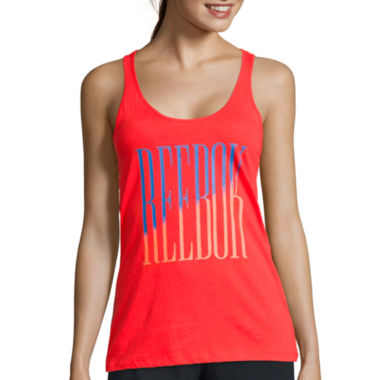 jcpenney.com | Reebok® Graphic Tank Top