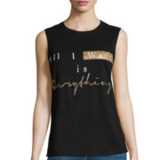 i jeans by Buffalo Screen Tank Top