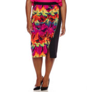 Worthington® Trim Envelope Skirt - Plus