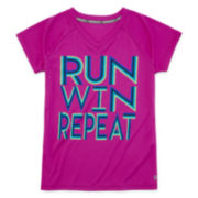 Xersion™ Quick-Dri Short-Sleeve Graphic Tee - Girls 7-16 and Plus