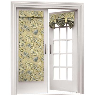 brighton blossom rod pocket door panel jcpenney. Black Bedroom Furniture Sets. Home Design Ideas