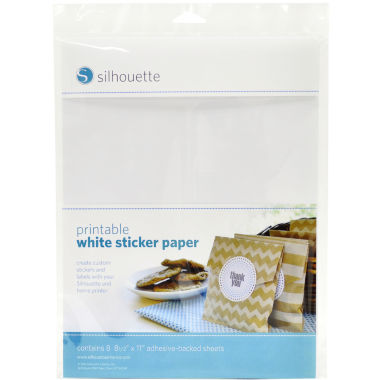 jcpenney.com | Silhouette Printable Adhesive Sheets