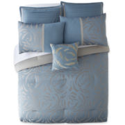 Swirl 7-pc. Jacquard Comforter Set
